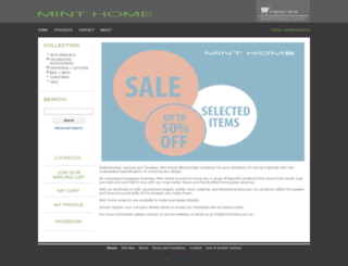 minthome.com.au screenshot