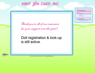 mintoncardinc.com screenshot