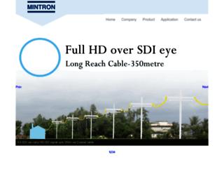 mintron.com screenshot