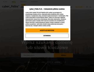 mintshost.pl screenshot
