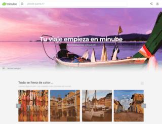 minube.com.ar screenshot