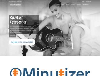 minutizer.com screenshot