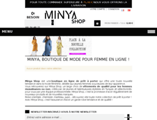 minya-shop.com screenshot