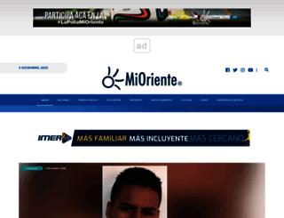 mioriente.com screenshot