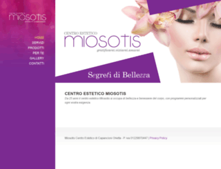 miosotis.com screenshot