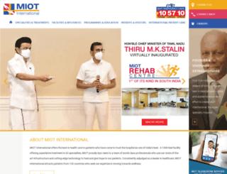miotinternational.com screenshot