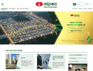 mipectower.com.vn screenshot