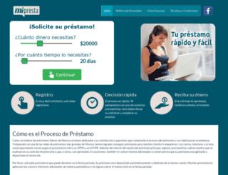 mipresta.mx screenshot