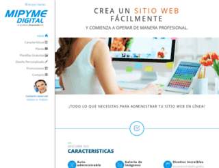 mipymedigital.com screenshot