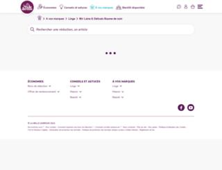 mir-thevoice.labelleadresse.com screenshot
