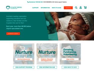miraclebabies.org.au screenshot