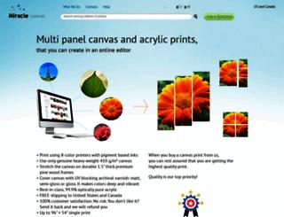 miraclecanvas.com screenshot