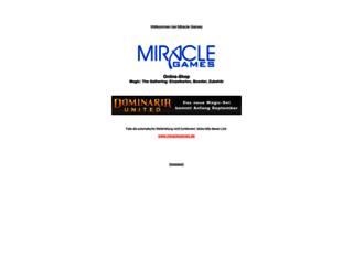 miraclegames.de screenshot