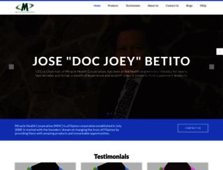miraclehealthcorp.com screenshot