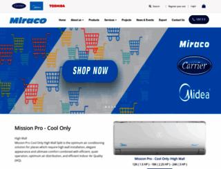 miraco.com.eg screenshot