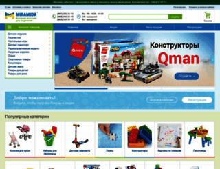 miramida.com.ua screenshot
