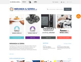 mirandaeserra.pt screenshot