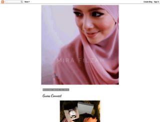 mirarafilzah.blogspot.my screenshot