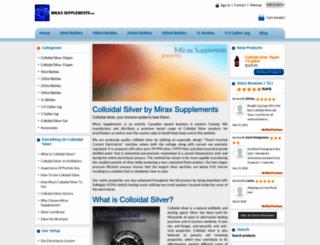 miraxsupplements.com screenshot