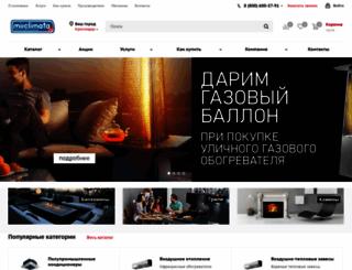 mirclimata.ru screenshot