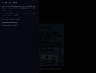 miriad-products.com screenshot