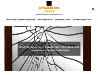 miroirdemuses.com screenshot