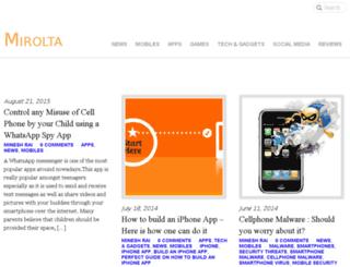 mirolta.com screenshot