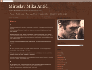 miroslavantic.blogspot.com screenshot