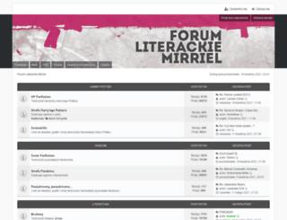 mirriel.net screenshot