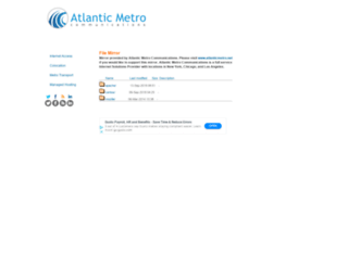 mirror.atlanticmetro.net screenshot