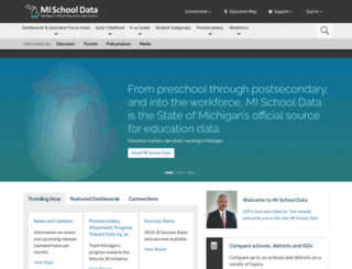 mischooldata.org screenshot
