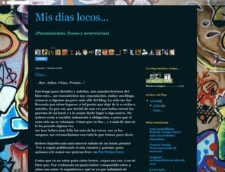 misdiaslocos.blogspot.com screenshot