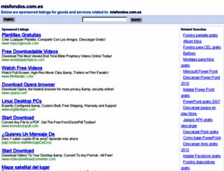 misfondos.com.es screenshot