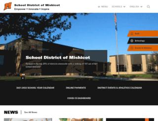 mishicot.k12.wi.us screenshot