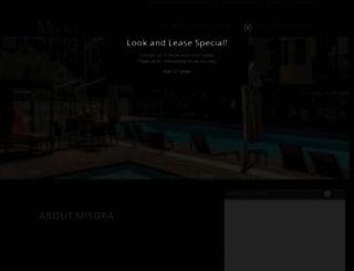 misoraluxuryapts.com screenshot