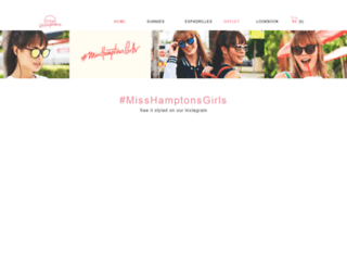 miss-hamptons.myshopify.com screenshot