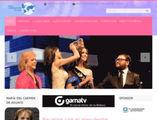 missamericancontinent.com screenshot