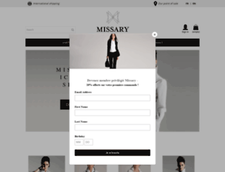 missary.fr screenshot