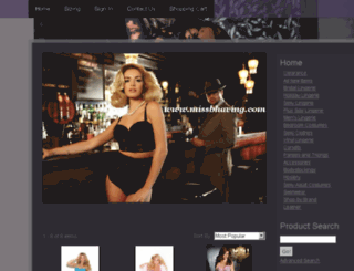 missbhaving.com screenshot