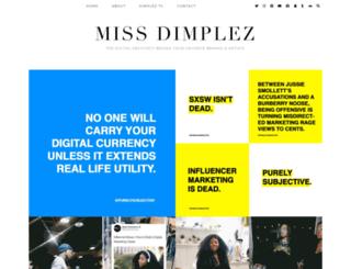missdimplez.com screenshot
