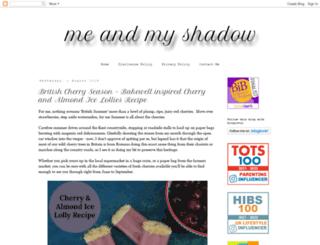 missielizzie-meandmyshadow.blogspot.co.uk screenshot