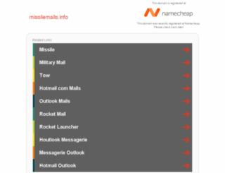 missilemails.info screenshot