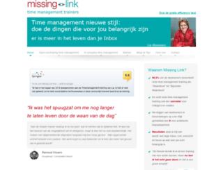 missing-link.nl screenshot