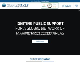 mission-blue.org screenshot