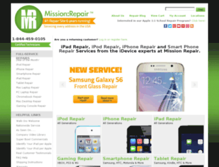 missionrepair.com screenshot