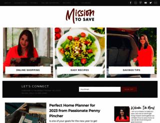 missiontosave.com screenshot