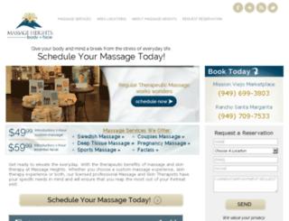 missionviejoblog.massageheights.com screenshot