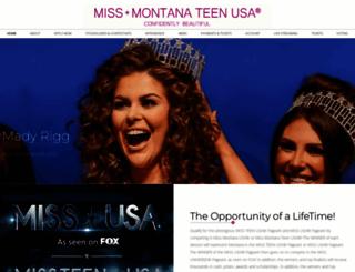 missmontanausa.com screenshot