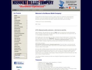 missouribullet.com screenshot