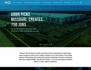 missouripartnership.com screenshot
